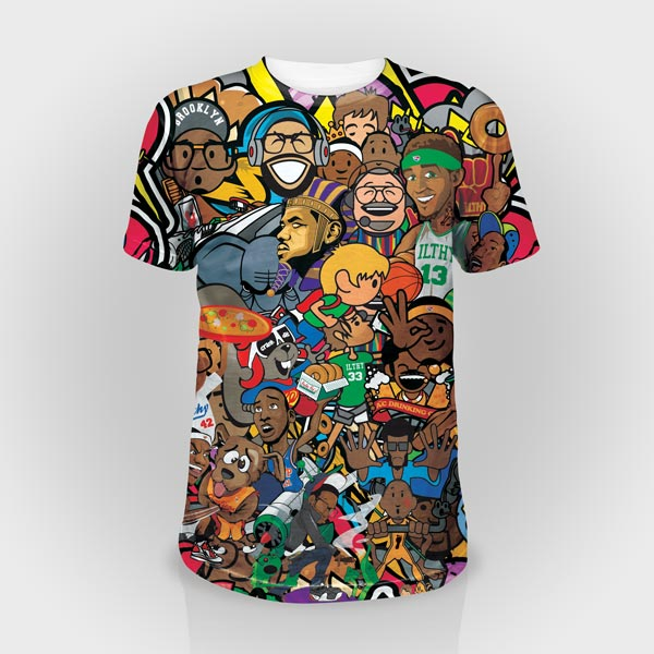 Sublimation t shirts for All over dye sublimation t shirt printing