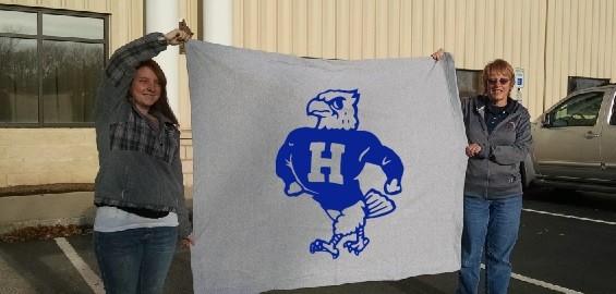 College Logo Fleece Blankets
