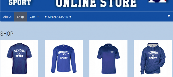 School Spirit Wear Online Store