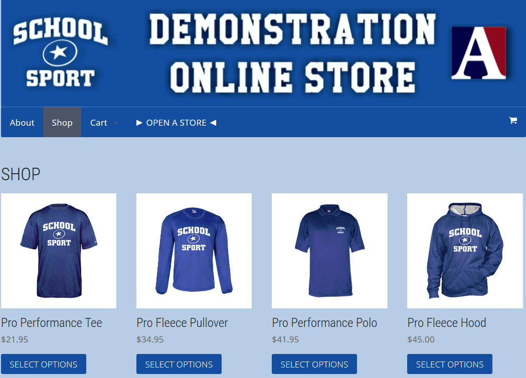 O-Line Sports provides absolutely free athletic websites and online sportswear stores. Our sites allow you to easily organize all of your program's information in one place, allow.