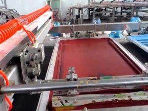 Silk Screen Printing on Fabric