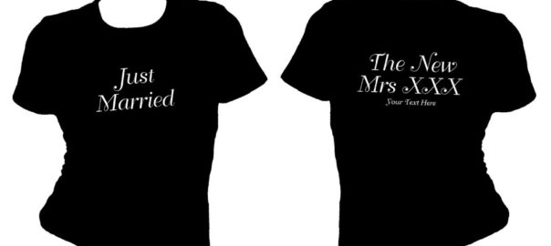 Front and Back Printed T Shirts