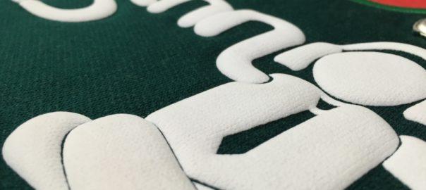 Puff Printing on Fabric